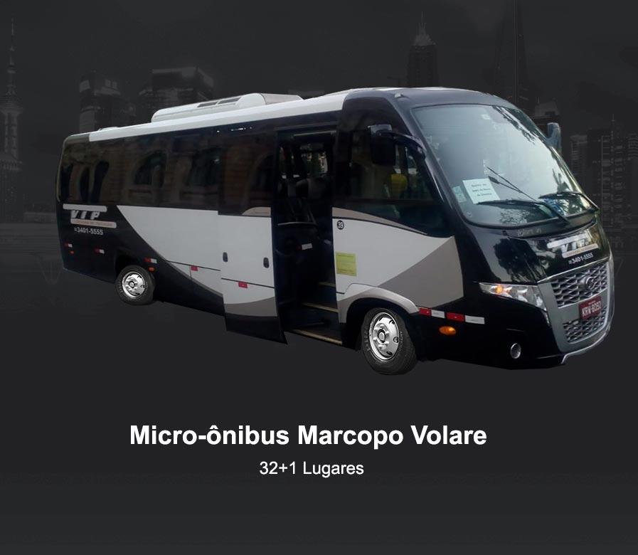 Fretamento Micro onibus Novo